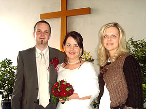 Wedding of Simone and Manuel Hoheneder whith Miriam